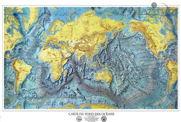 Topographie fond marin